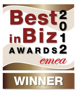 Best in Biz Awards 2012 EMEA bronze