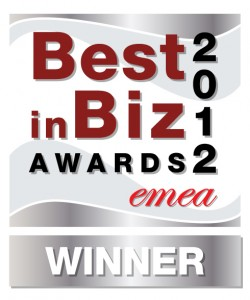 Best in Biz Awards 2012 EMEA silver